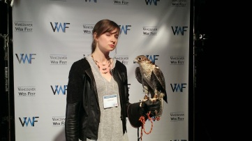 I bonded with a falcon.
